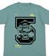 戦闘力5の男Tシャツ