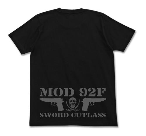 ブラック・ラグーン/ブラック・ラグーン/ソードカトラス スカルTシャツ