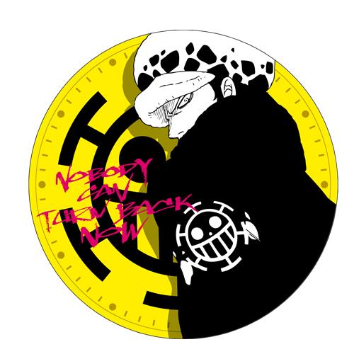 ONE PIECE/ワンピース/トラファルガー・ロー ウォールクロック