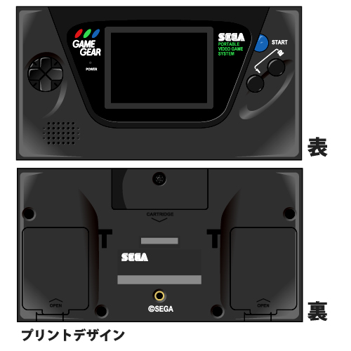 SEGA/ゲームギア/ゲームギア ペンポーチ
