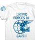 地球連合軍Tシャツ