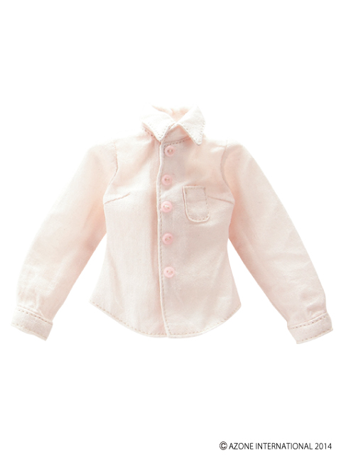 AZONE/Pureneemo Original Costume/POC328【1/6サイズドール用】PNSベーシックYシャツ