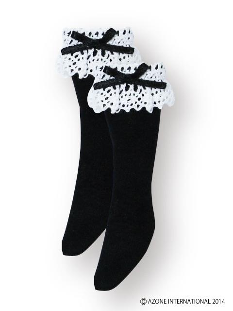 AZONE/Pureneemo Original Costume/POC325【1/6サイズドール用】こもれび森のお洋服屋さん♪「PNSロリータ・ハイソックス」