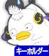銀魂/銀魂/新八+神楽エリザベス風つままれキーホルダー