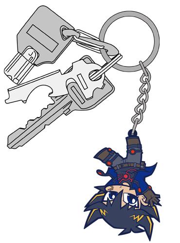 遊☆戯☆王/遊☆戯☆王5D's/不動遊星つままれキーホルダー 逆さ吊りver