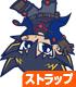 遊☆戯☆王 シリーズ/遊☆戯☆王5D's/不動遊星つままれストラップ 逆さ吊りver
