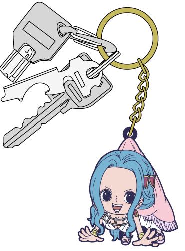 ONE PIECE/ワンピース/ビビつままれキーホルダー
