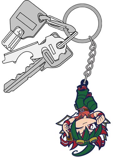 遊☆戯☆王/遊☆戯☆王ARC-V/榊遊矢つままれキーホルダー 逆さ吊りver