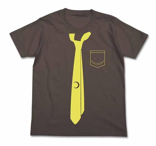 暗殺教室/暗殺教室/殺せんせーネクタイ風Tシャツ