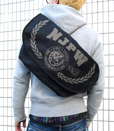 新日本プロレスリング/新日本プロレスリング/ライオンマーク メッセンジャーバッグ