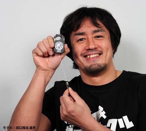 新日本プロレスリング/新日本プロレスリング/ライオンマーク リールキーホルダー
