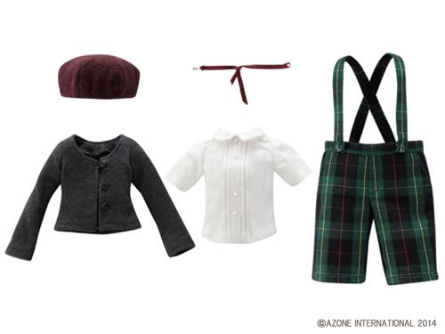 AZONE/Pureneemo Original Costume/ALB141【1/6サイズドール用】PNXS聖ポートルダム初等部 男の子制服セット