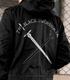 ★限定★黒の剣士 刺繍M51ジャケット