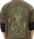 ★限定★シノン刺繍ワークシャツ セピアトーンver.