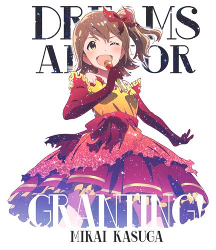 THE IDOLM@STER/アイドルマスターミリオンライブ!/春日未来フルカラーTシャツ