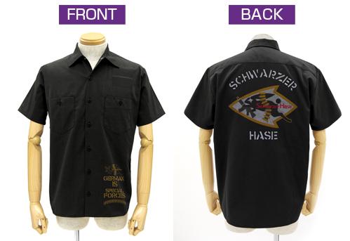 IS <インフィニット・ストラトス>/IS <インフィニット・ストラトス>/シュヴァルツェ・ハーゼ刺繍ワッペンベースワークシャツ