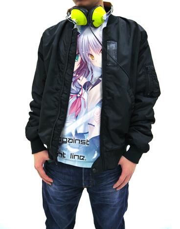 Angel Beats!/Angel Beats!-Operation Wars-/ゆり&かなでフルグラフィックTシャツ