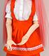 TL-0169【Libidoll用】ウェイトレス制服(バストアップビブエ...