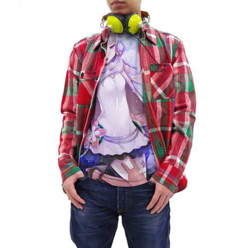 結月ゆかり/結月ゆかり/結月ゆかり穏フルグラフィックTシャツ