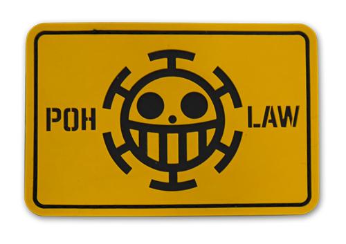 ONE PIECE/ワンピース/ハートの海賊団 PVCパッチ