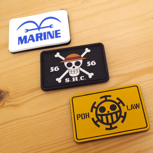 ONE PIECE/ワンピース/海軍 PVCパッチ