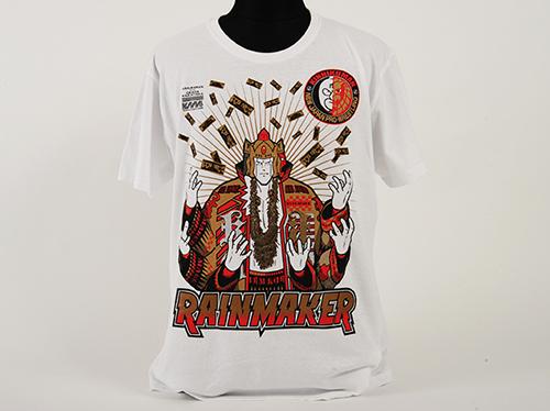 新日本プロレスリング/新日本プロレスリング/キン肉マンコラボDX オカダ・カズチカ×アシュラマン「RAINMAKER」Tシャツ