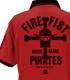 火拳のエースポロシャツ