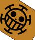 ONE PIECE/ワンピース/ハートの海賊団  天竺パーカー