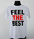 棚橋弘至「FEEL THE BEST」Tシャツ
