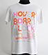KUSHIDA「HOVER BOARD LOCK」Tシャツ