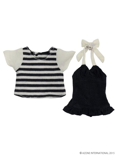 AZONE/Pureneemo Original Costume/POC350【1/6サイズドール用】PNSマリンボーダーTシャツset