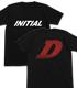 INITIAL D Tシャツ