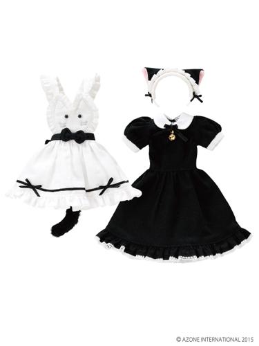 AZONE/Pureneemo Original Costume/POC355【1/6サイズドール用】PNSにゃんこカフェメイドset