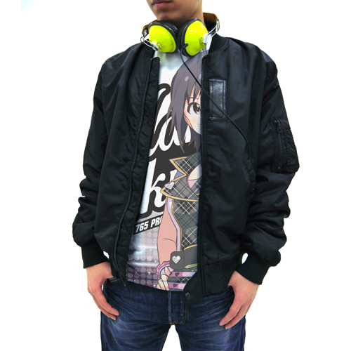 THE IDOLM@STER/THE IDOLM@STER/アイドルマスター ワンフォーオール 菊地真フルグラフィックTシャツ
