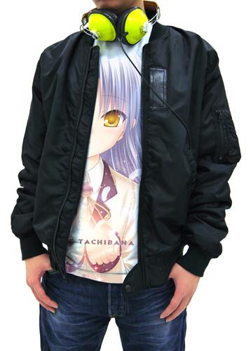 Angel Beats!/Angel Beats!-1st beat-/かなでシャイニー フルグラフィックTシャツ