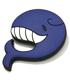 大鯨/龍鳳のクジラ型ラバーアクセサリー