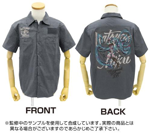 初音ミク/マジカルミライ 2015/初音ミク 刺繍ワークシャツ マジカルミライ 2015ver.