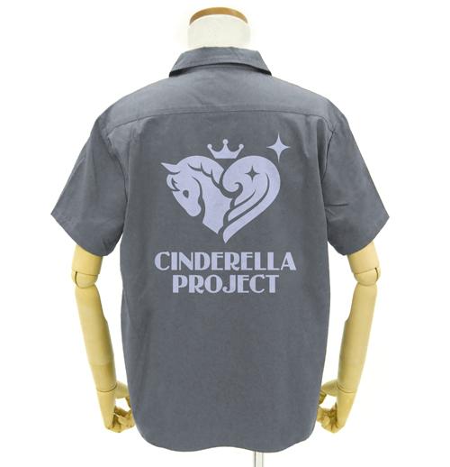 THE IDOLM@STER/アイドルマスター シンデレラガールズ/346プロ ワッペンベースワークシャツ