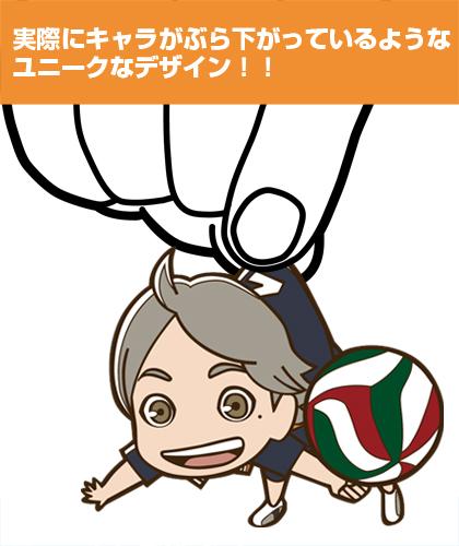 ハイキュー!!/ハイキュー!!/菅原孝支つままれストラップ