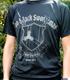 黒の剣士ドライTシャツ