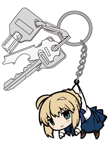 Fate/Fate/stay night/Fate/stay night [UBW]セイバーつままれキーホルダー