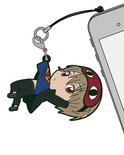 銀魂/銀魂/沖田総悟つままれストラップ 3年Z組Ver.
