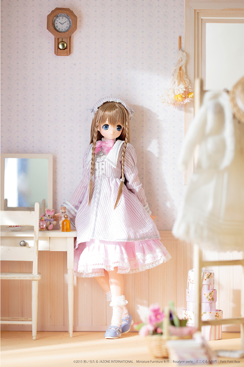 AZONE/サアラズ ア・ラ・モード/【SALE】サアラズ ア・ラ・モード ~ピンク!ピンク! ア・ラ・モード~ Purple×Pink/アリサ POD019-PAT