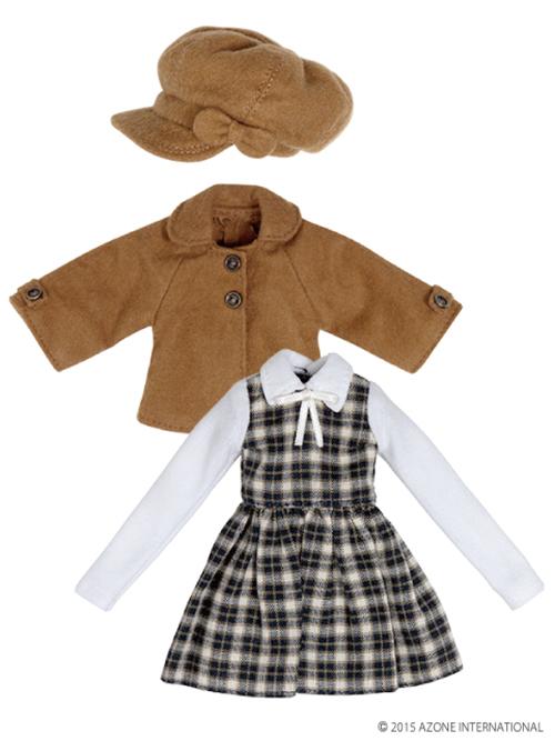 AZONE/Pureneemo Original Costume/ALB150【1/6サイズドール用】PNXSリトルオータムガールセット