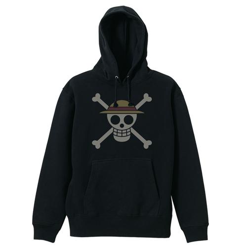 ONE PIECE/ワンピース/麦わらの一味海賊旗パーカー