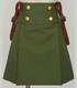巡ヶ丘学院高等学校女子制服 スカートセット緑ver.