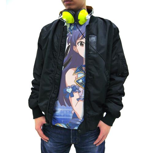 THE IDOLM@STER/THE IDOLM@STER/アイドルマスター ワンフォーオール 如月千早フルグラフィックTシャツ