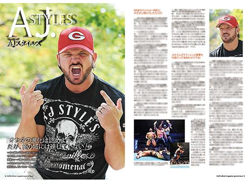 新日本プロレスリング/新日本プロレスリング/KING OF PRO-WRESTLING 両国大会パンフレット(2015)