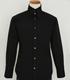 オリジナル襟高シャツ/黒