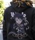 ★限定★黒の剣士キリト刺繍ジップパーカー